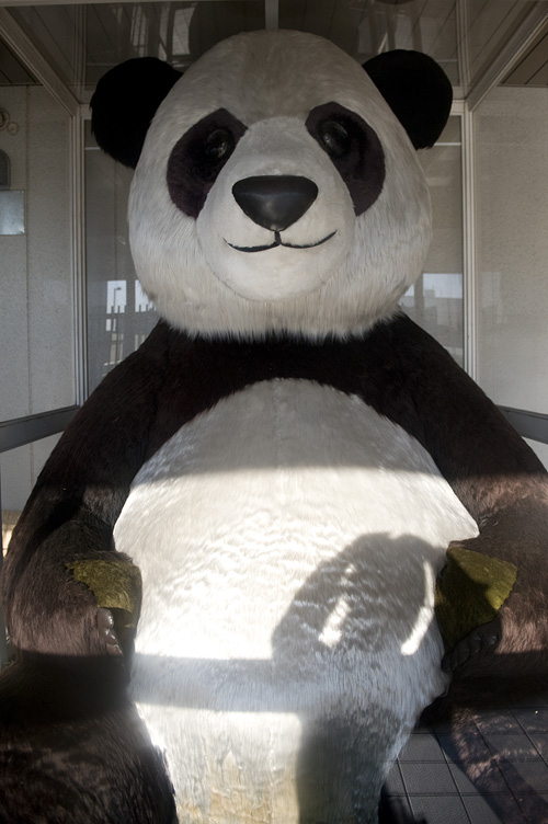 上野駅 ジャイアントパンダ像