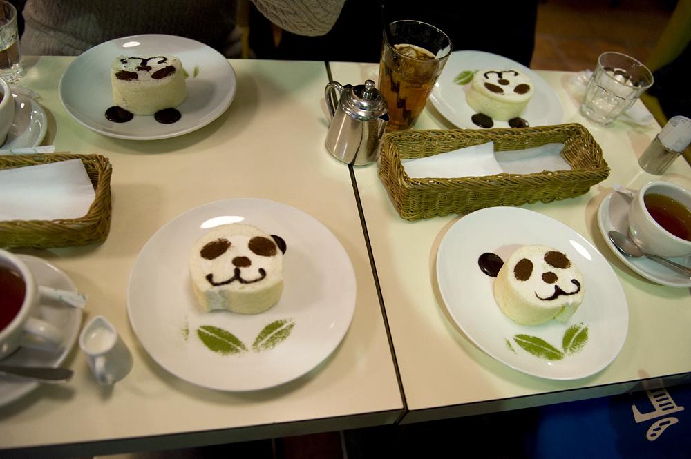 パンダ茶会