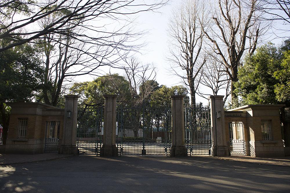上野動物園 旧正門