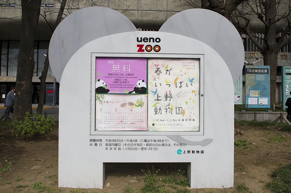 上野動物園 本日入園無料