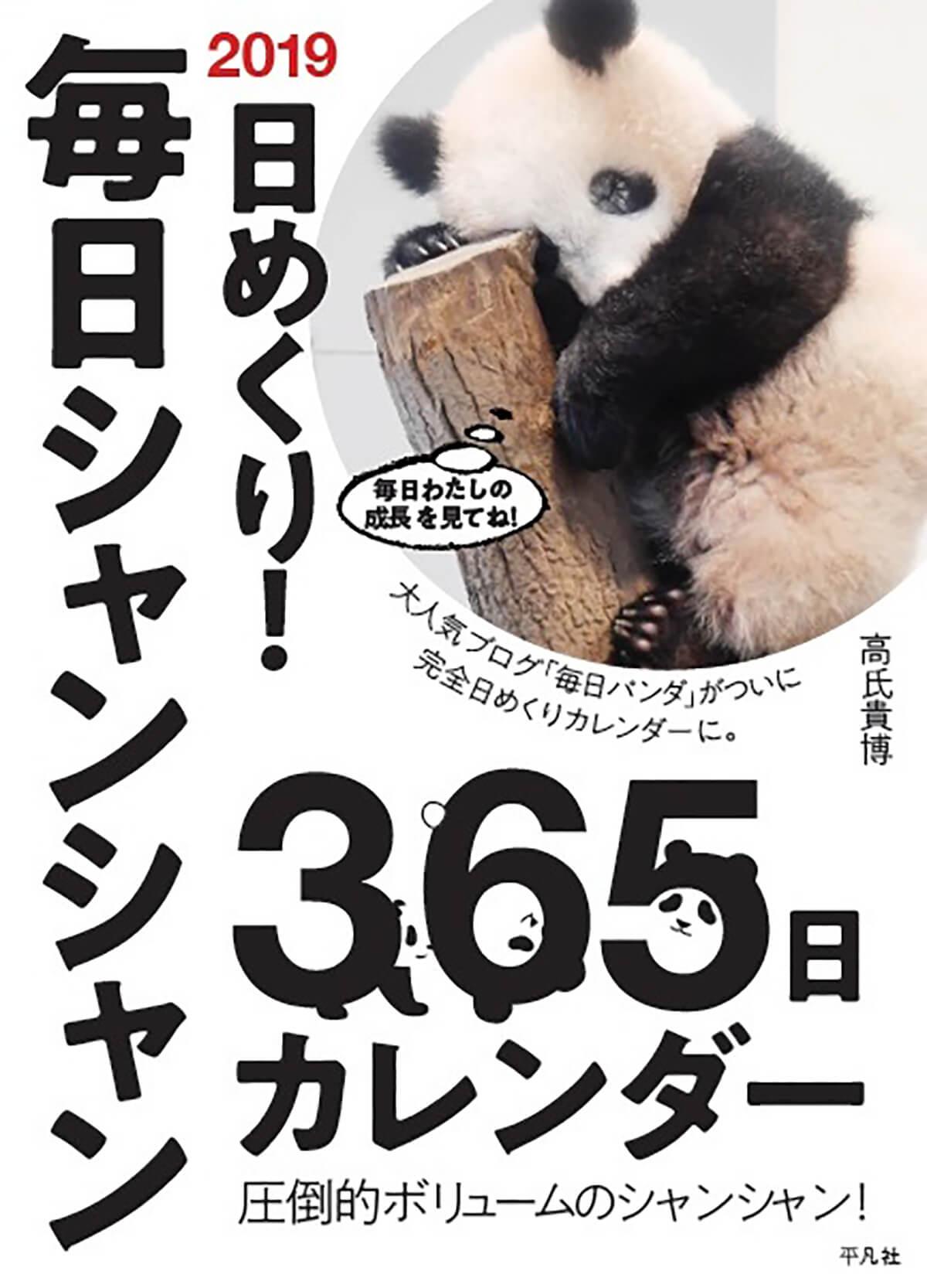 2019 日めくり!毎日シャンシャン365日カレンダー